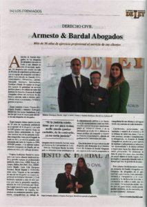 Entrevista premios Ley
